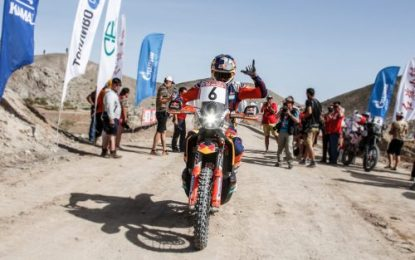 Red Bull KTM Factory Racing contest the 2019 Atacama Rally