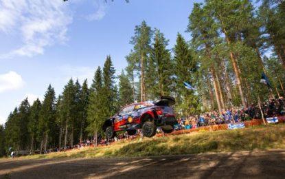 Irish crew continue to impress on their Finland WRC debut with Hyundai Motorsport