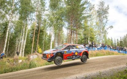 Hyundai's Breen & Nagle make immediately positive impression in Rally Finland
