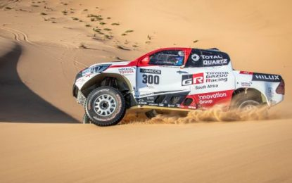 Alonso undertakes intensive rally-raid training with Toyota Gazoo Racing