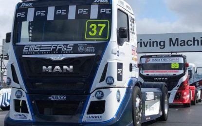 T Sport Racing MAN on home soil at Donington Park