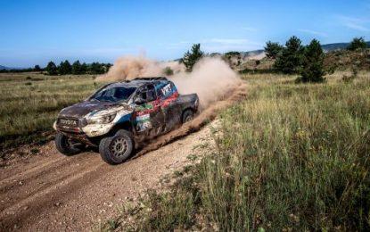 Hungarian Baja '19: Vasilyev & Zhiltsov (RUS) 3rd in Overdrive Racing Toyota Hilux