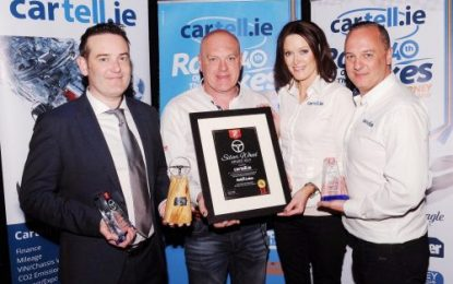 Cartell.ie to remain main sponsor of the Rally of the Lakes