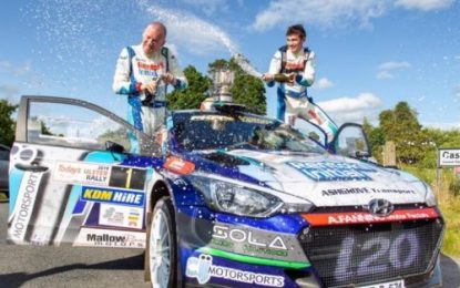 Breen & Nagle win Irish Tarmac Championship after Ulster victory