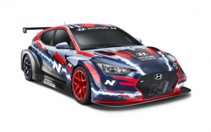 Hyundai Motorsport reveals Veloster N ETCR at IAA 2019