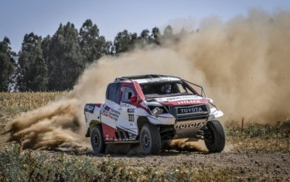 Rock n' Roll for Alonso & Coma in Gazoo Toyota Hilux