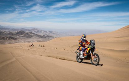 Red Bull KTM Factory Racing's Sam Sunderland wins 2019 FIM Cross-Country Rallies World Championship