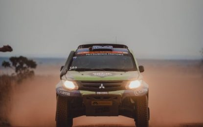 Mitsubishi L200/Triton makes podium on 27th Rally dos Sertões, Brazil
