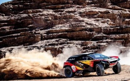 3-Way title fight for FIA Cross-Country Rally title at Jordan Baja