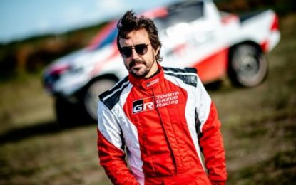 Quality mileage for Fernando Alonso in Poland with TOYOTA GAZOO Racing