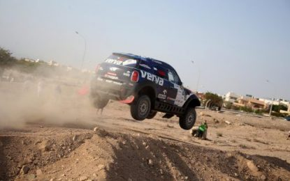 Przygonski & Mini take early lead in Jordan Baja