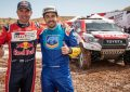 Giniel de Villiers/Overdrive Racing/Toyota Gazoo Racing Hilux win dramatic Rally of Morocco