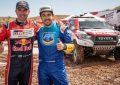 Giniel de Villiers/Overdrive Racing/Toyota Gazoo Racing Hilux win dramatic Rally of Morocco