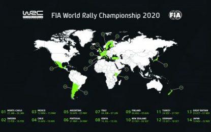 Japan, Kenya & New Zealand named in 2020 WRC calendar