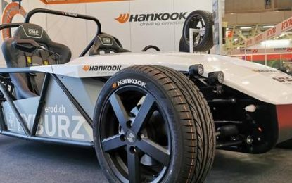 Hankook equips Swiss electric roadster