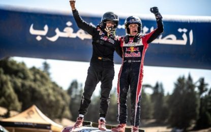 Another off road win for Toyota Gazoo Racing's Hilux in Morocco