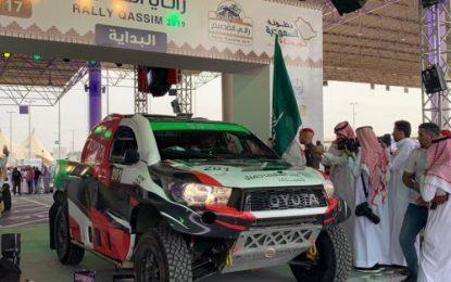 Yazeed Al-Rajhi & Ireland's Michael Orr lead Rally Qassim