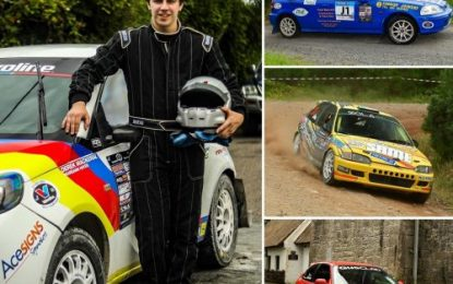 4 Junior Rally Champions secure nominations for 2019 Motorsport Ireland Billy Coleman Young Rally Driver Award