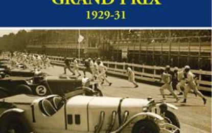 New book by Bob Montgomery; The Irish International Grand Prix 1929-1931