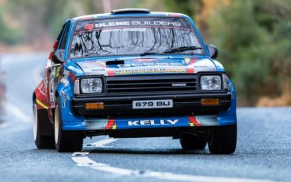 Kelly gains Motorsport Ireland Billy Coleman Young Rally Driver Award Nomination