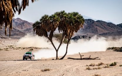 Lead tightens on Al Ula–Neom Cross-Country Rally