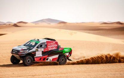 Al-Rajhi/Orr & Toyota Hilux Overdrive win Al-Rajhi 2019