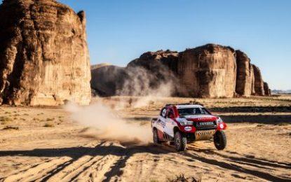 Alonso makes final Dakar preparations with TOYOTA GAZOO Racing at Al Ula-Neom Cross-Country Rally in Saudi Arabia