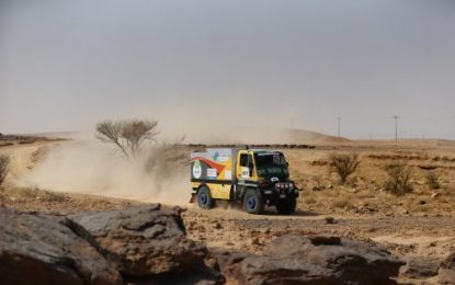 Sharqiya Baja 2019; Saudi Toyota Desert Rally Championship, round 5