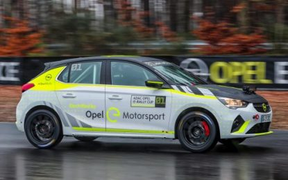 Opel develops first-ever battery-electric rally car – Corsa-e Rally