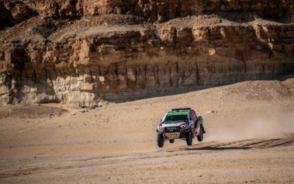Yazeed Al-Rajhi & Michael Orr win inaugural Sharqiya Baja/Saudi Toyota Desert Championship
