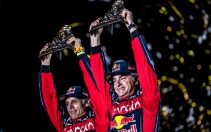 Dakar 2020: Sainz & Peterhansel celebrate first & third for Bahrain JCW X-raid Team