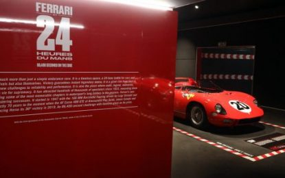 Ferrari at 24 Heures du Mans' exhibition opened at Ferrari Museum in Maranello