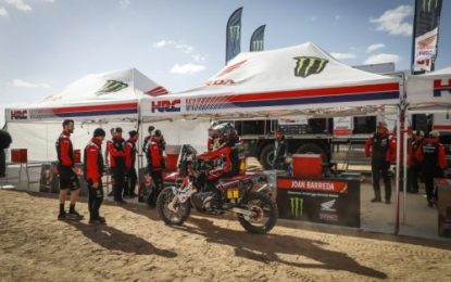 Monster Energy Honda Team to build on fine work done as the Dakar heads into second week