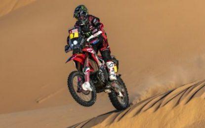 Honda's Benavides claims first Dakar 2020 stage win on a tragic day