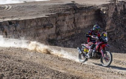 Brabec – Monster Energy Honda Team remains in command at the Dakar