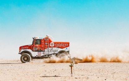 Loprais & Praga V4S DKR closer to the Dakar podium