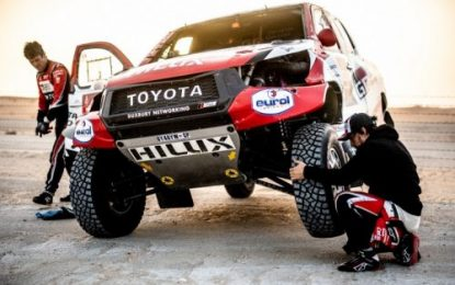Tough SS10 for TOYOTA GAZOO Racing on 2020 Dakar Rally