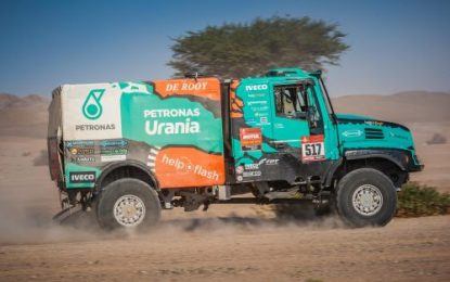 Not the best day 2 for Petronas Team De Rooy Iveco