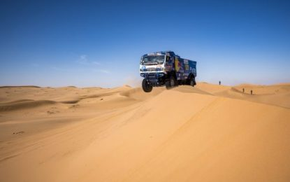 Seventh stage of the Dakar Rally 2020: KAMAZ Karginov, Sotnikov & Shibalov in Top 3