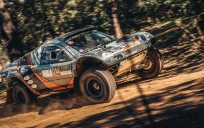 Opening stage of the 12th Africa Eco Race (Monaco-Dakar)