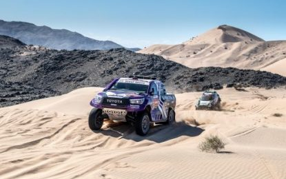 Dakar leaders feel the heat on scorching Stage 9