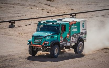 Petronas Team De Rooy Iveco – race trucking along in Dakar 2020