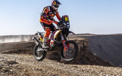 Red Bull KTM Factory Racing's Toby Price – 2nd Dakar Rally 2020 – Stage 9