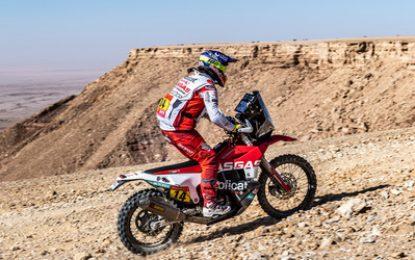 Laia Sanz completed Dakar's SS9 – 886-kilometre stage from Wadi Al-Dawasir to Haradh