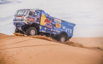 KAMAZ' Karginov strengthens lead in Truck Class, Dakar 2020: Nikolaev out