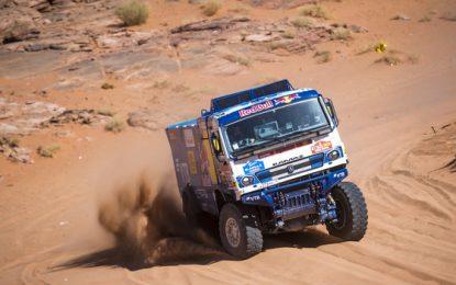 KAMAZ' Karginov wins SS3 Rally Dakar 2020