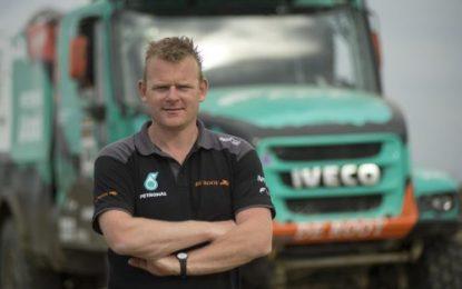 Petronas Team De Rooy Iveco boss Gerard de Rooy is positive about the Dakar so far
