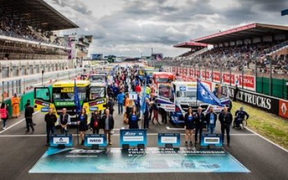 2020 FIA European Truck Racing Championship to continue Highlighting Truck Driver Deficit