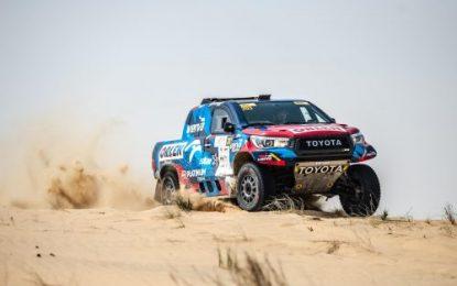 Local star Nasser Saleh Al-Attiyah leads Manateq Qatar Cross-Country Rally