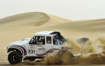 Top entry for Manateq Qatar Cross-Country Rally 2020